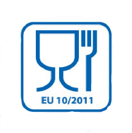 Conforms to food safety standard EU 10 / 2011